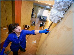 Услуга клининга - генеральная уборка квартиры