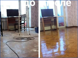 Уборка в квартире До и после уборки